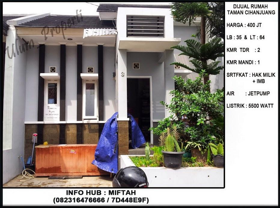 Dijual Cepat Rumah Siap Huni Di Perumahan Cihanjuang Bandung