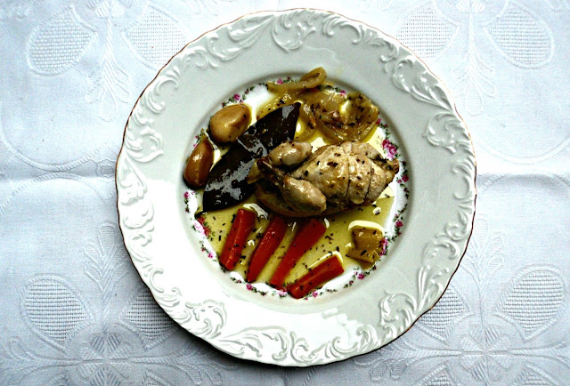 codornices, escabeche, aves, carne, receta, casera