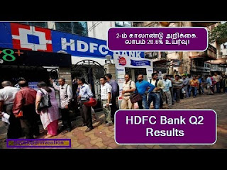 HDFC Bank Q2 Result | Stock Market in Tamil