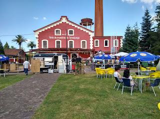 Food Trucks en el desembalaje de Torrelavega