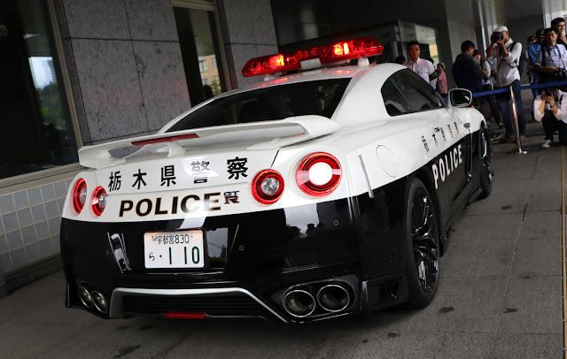 栃木県警に日産「GT-R」のパトカーが納入!「R35」の警察車両は日本初に。