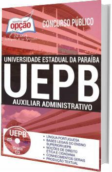 Apostila Concurso UEPB 2017 Auxiliar Administrativo