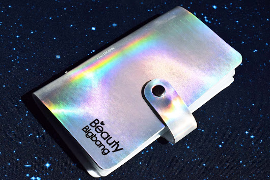 Beauty Big Bang Unicorn Holo Stamping Plate Holder