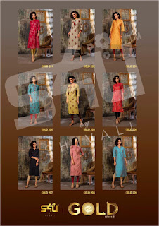 S4U Gold vol 2 Fancy Summer kurti by #Shivali