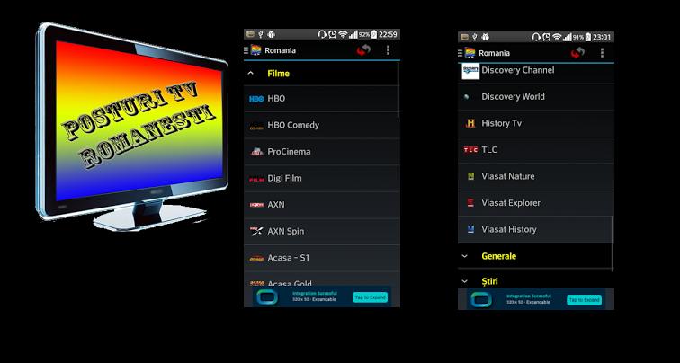 tv online pe mobil