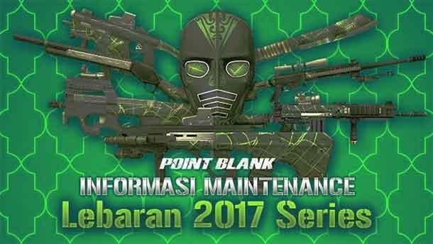 Maintenance PB Garena 20 Juni 2017 Seri Lebaran