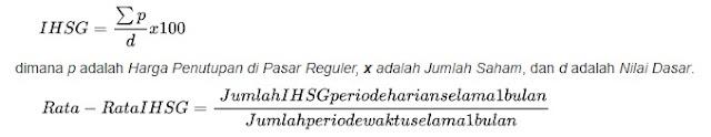 cara perhitungan IHSG
