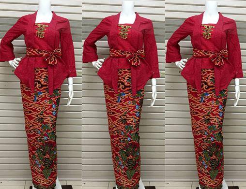 17 Contoh Model Baju Batik Pramugari  Terbaru 2019