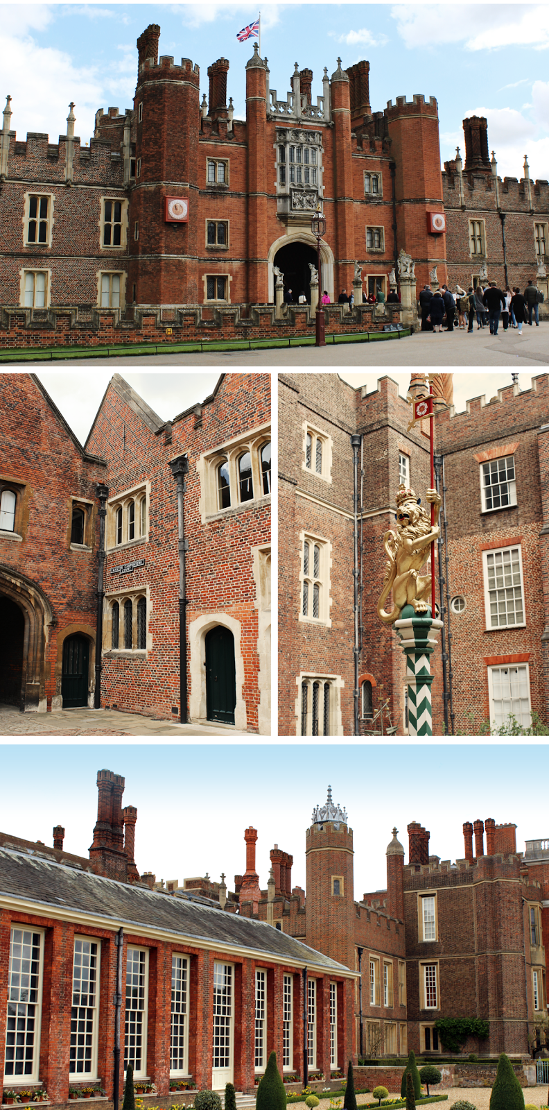 Hampton Court Palace, London, Henry VIII, Building