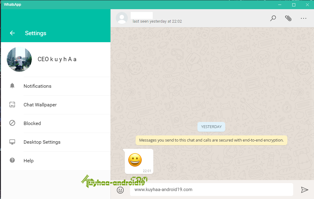 WhatsApp for Windows kuyhaa