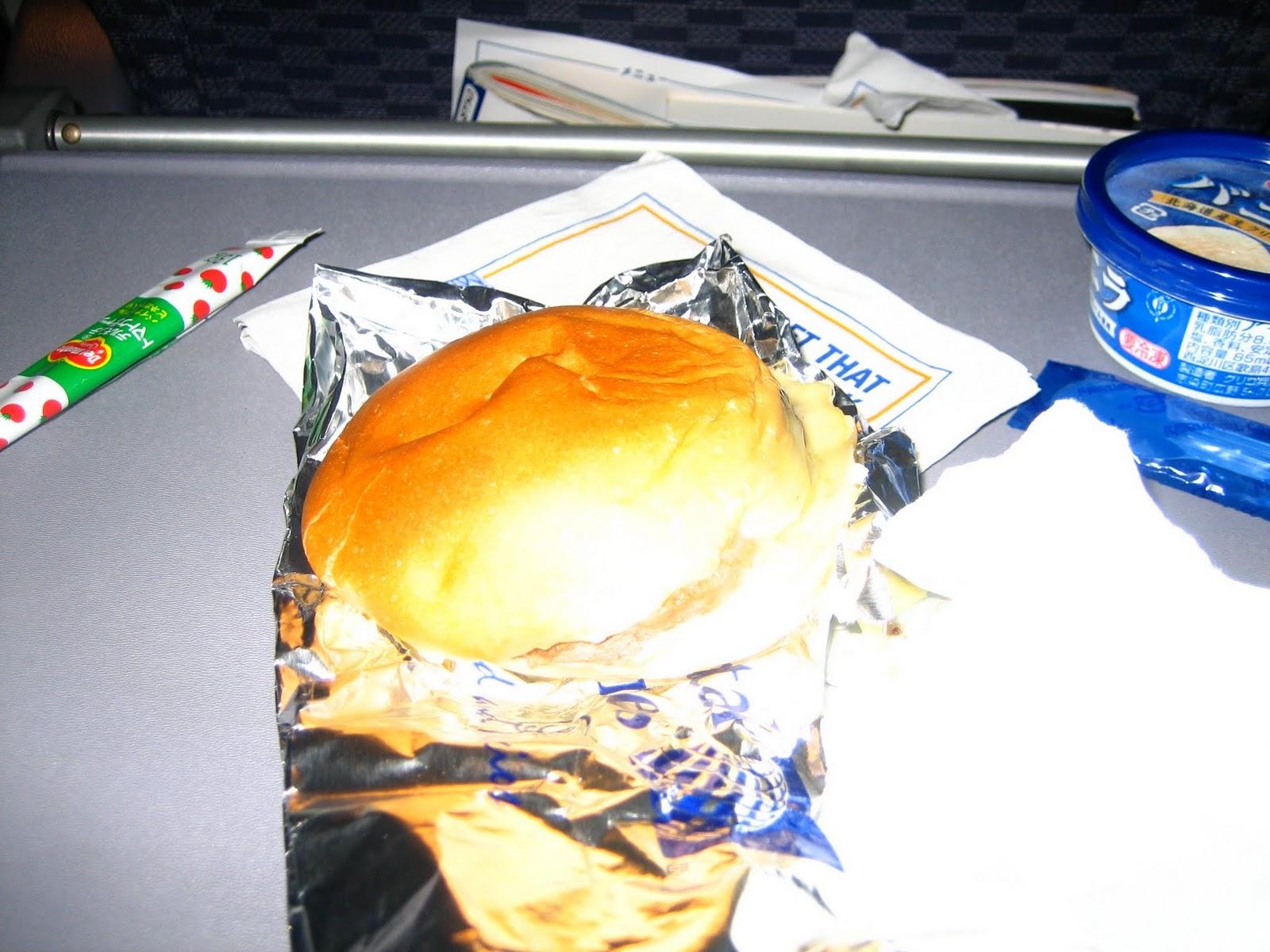 Continental-airline-cheese-hamburger