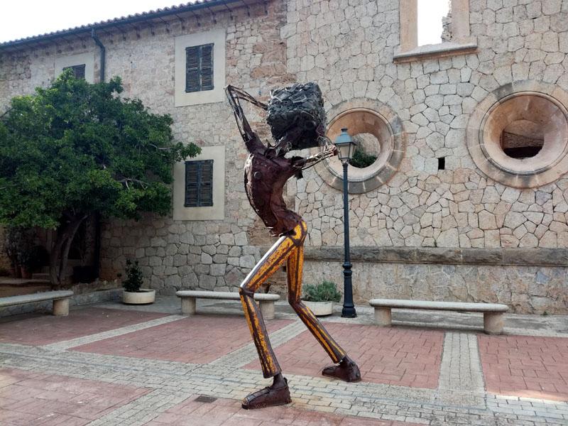 Foto: Statua a Estellencs, Maiorca