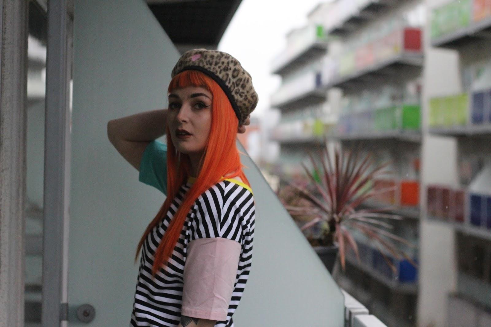 Alternative Fashion Blogger Foxxtailz in Romwe