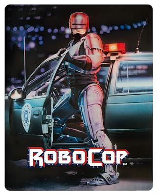 Robocop 1987 Bluray Steelbook