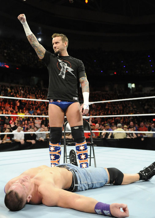 Eotr Feud Of The Week Cm Punk Vs John Cena Eyesontheringcom