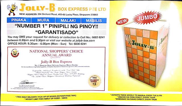 jolly-b balikbayan box