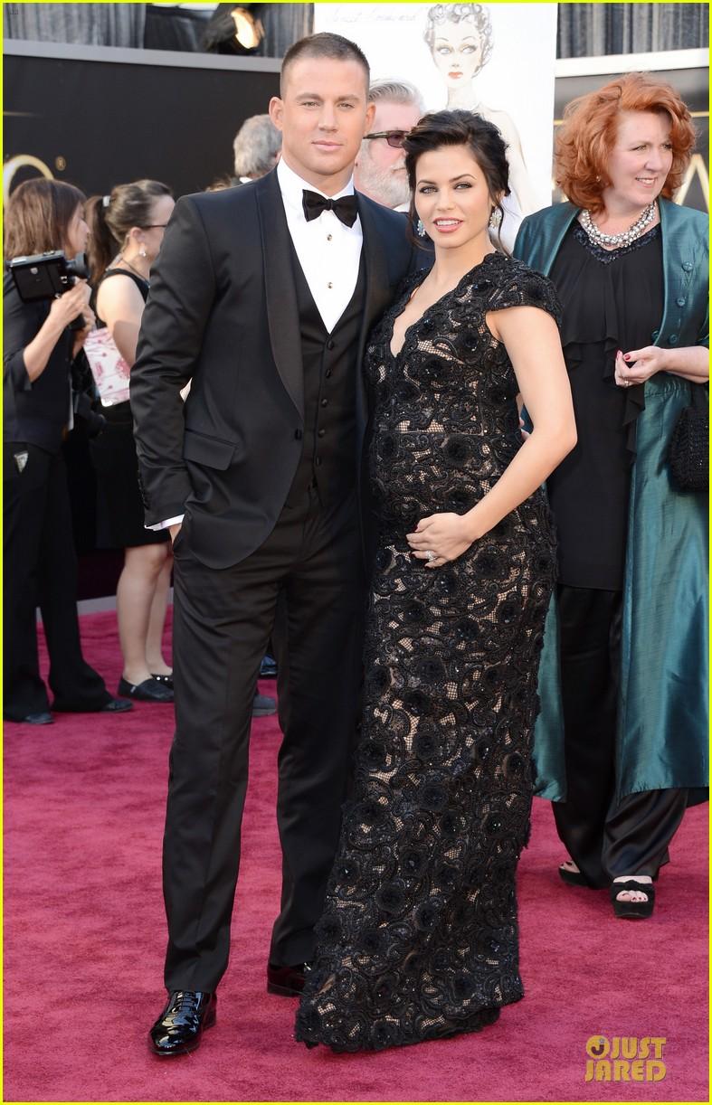 Celeb Diary: Channing Tatum & Jenna Dewan @ The Oscars 2013