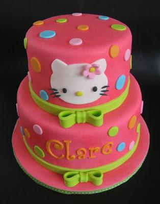 Gambar Kue Hello Kitty Hello Kitty Cake Happy Birthday Ulang Tahun