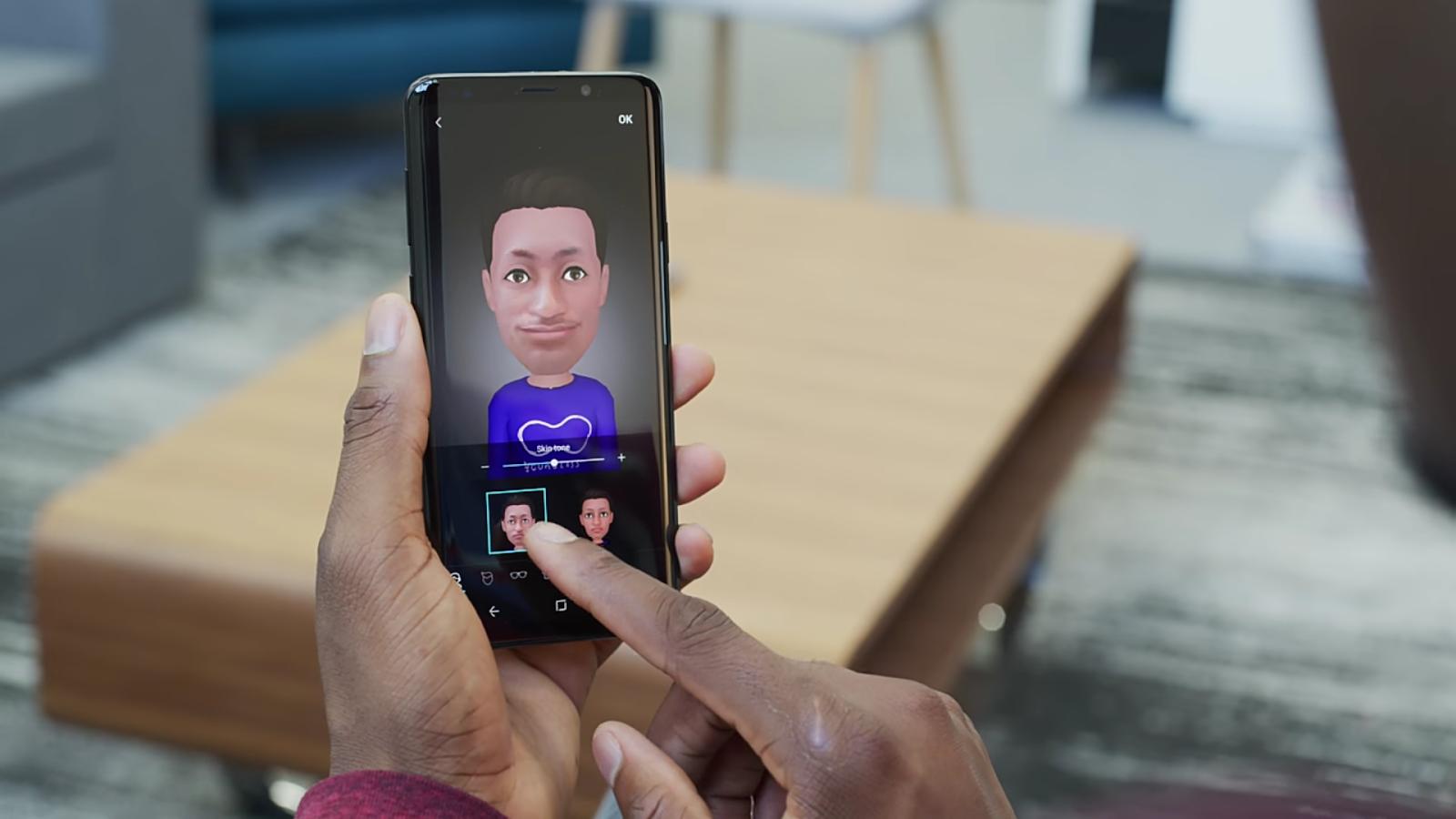 A second photo of the AR Emoji