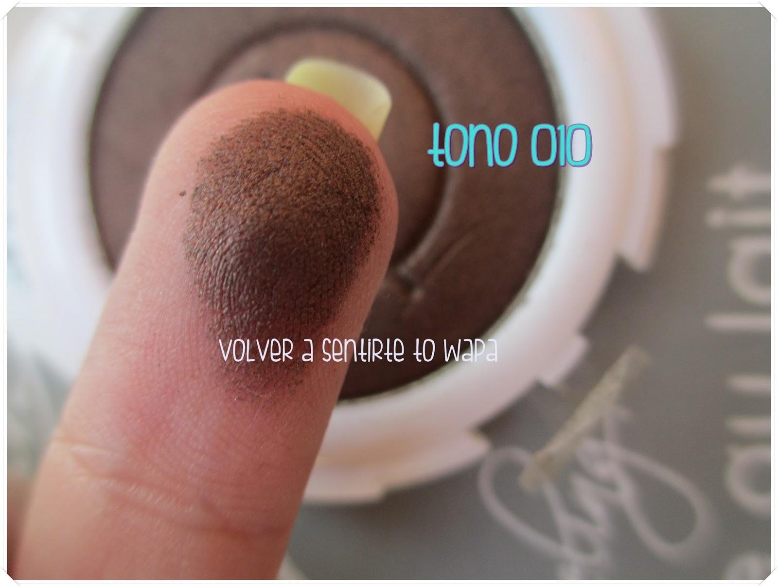 Sombras mono de Flormar - Otoño 2014 - Tono 010 Swatch