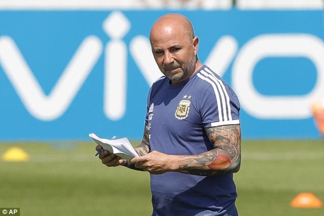 Argentina để lộ chiến thuật trước trận đấu sinh tử 1