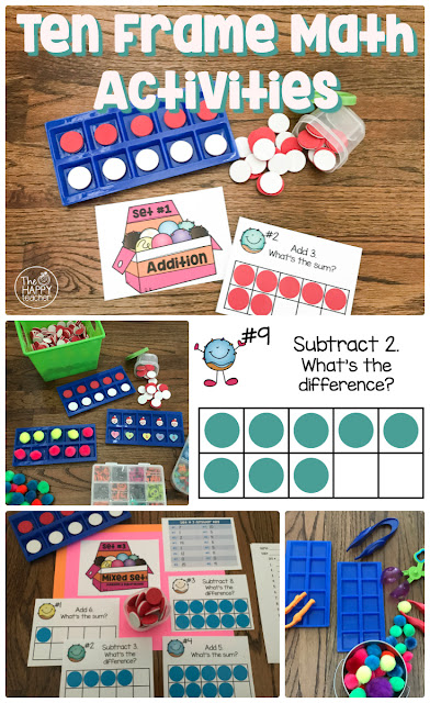 Fun ideas for math centers and small group tutoring