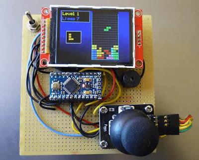 El juego del Tetris con Arduino