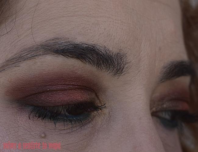Maquillaje en tonos cálidos con La Petite Palette MAXIMALIST de L'oreal