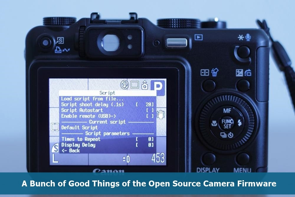 Open Source Camera Firmware