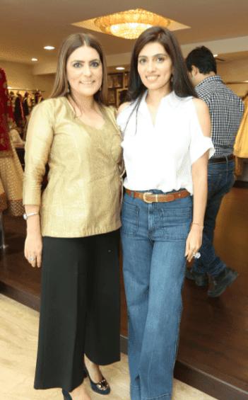 Reynu and Nikhita Taandon