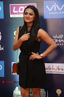 Actress Shraddha Srinath Stills in Black Short Dress at SIIMA Short Film Awards 2017 .COM 0020.JPG