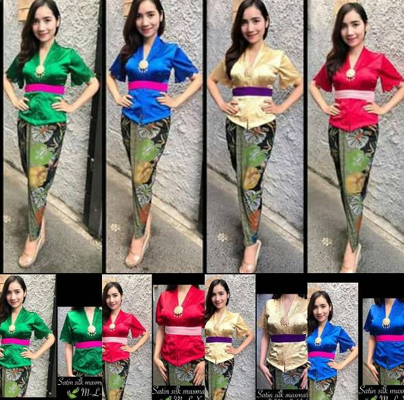 Model Kebaya Bali 2019 Terbaru Model Kebaya Terbaru 2019