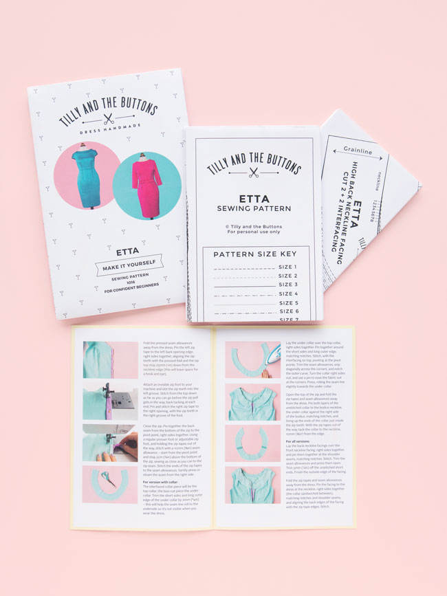 Absolutely gorgeous! Etta sewing pattern - Tilly and the Buttons