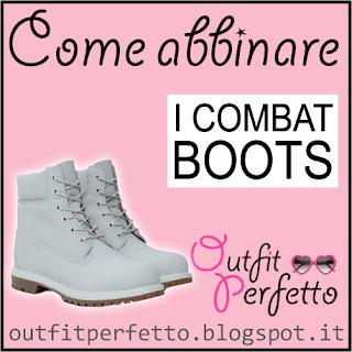 Come abbinare i combat boots stile Timberland