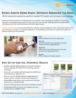 VisitBasis - Retail Audits Done Right, Without Breaking the Bank