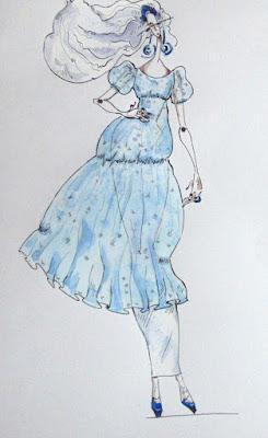 Авторский эскиз карнавального костюма