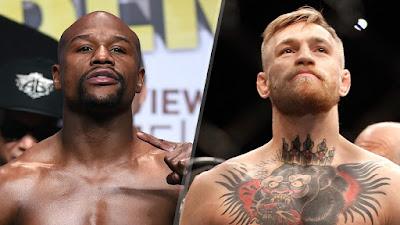 Horário da luta UFC entre McGregor e Mayweather 26/08/2017