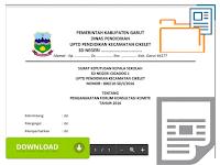 Unduh Contoh Format Surat Keputusan ( SK ) Kepala Sekolah