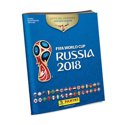 Novidade na Banca  Vanildo é o álbum e figurinhas da Copa do Mundo de 2018