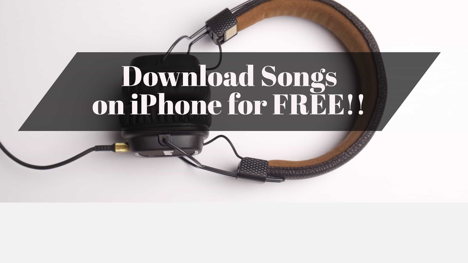 Want to download songs on iPhone for free without jailbreak? In this article, you will learn how to download songs for free without Jailbreak on iOS 10, 9.
