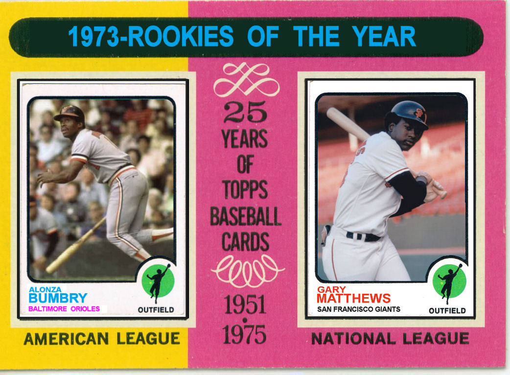 Cards That Never Were 1975 Topps 1973 Rookies Of The Year