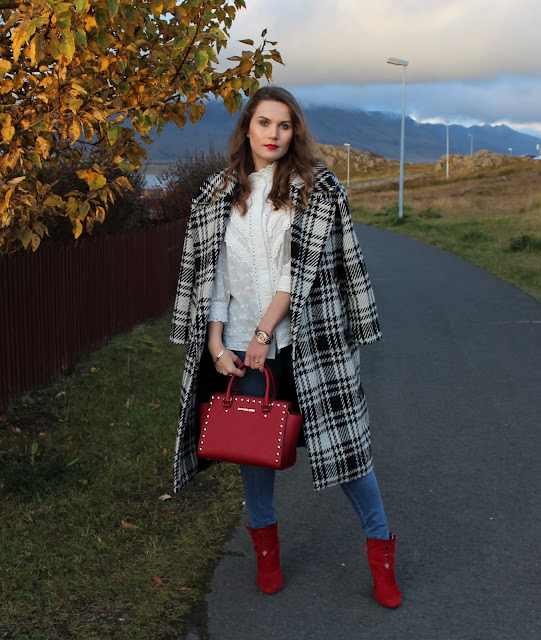 Badura_buty_sister_jane_white_shirt_zara_checked_coat_michael_kors_bag4