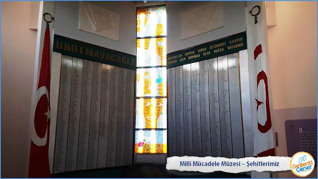 Milli-Mucadele-Muzesi-Lefkosa-Sehitlerimiz