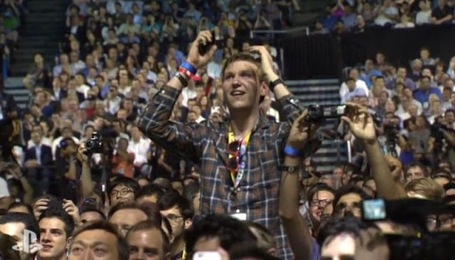 Shenmue guy at E3