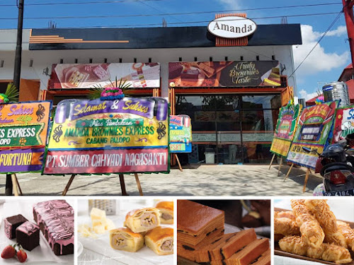 Outlet Amanda Brownies di Indonesia