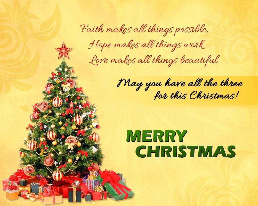 Merry Christmas Eve : Advance happy Merry Christmas poems ...