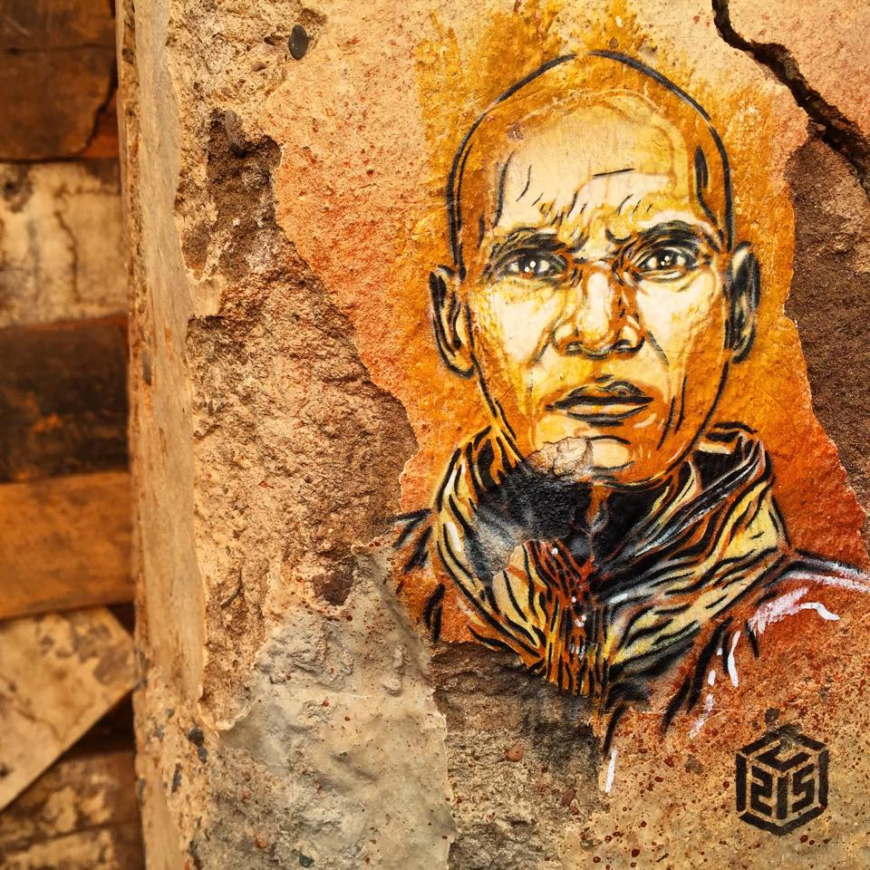 Artists: A Series Of New Pieces By C215 In Rwanda