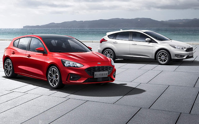 Ford Focus IV x Ford Focus III