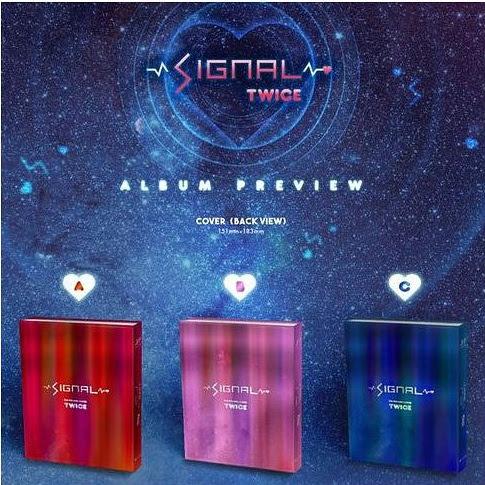 TWICE第四張迷你專輯「SIGNAL」預購