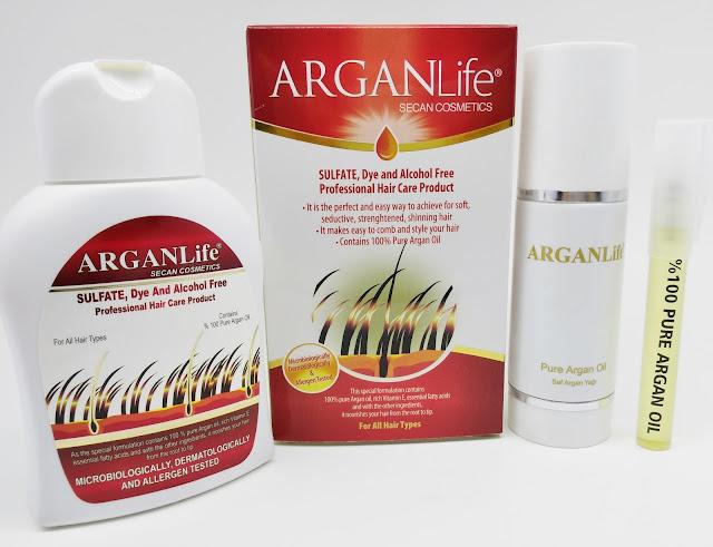 ARGANLife Hair Loss Shampoo and ARGANLife Oil